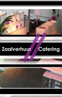 zaalverhuur catering noviteit monster